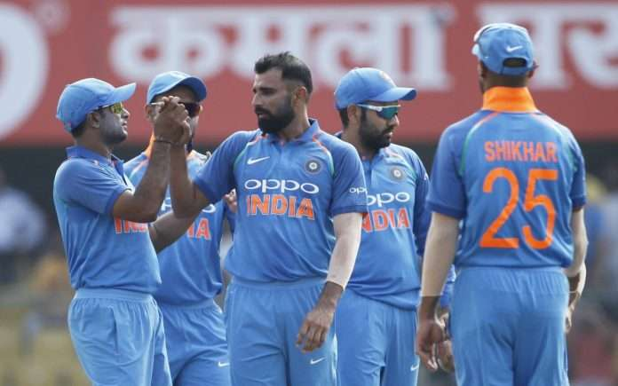 India vs West Indies first one day match live score update