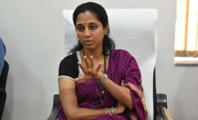 mumbai lack of oxygen bed in mumbai ncp Supriya Sule appeal to bmc to help patient