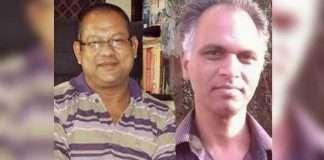 Surendra Gadlink and Sudhir Dhawale