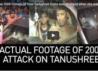 Goons attacked on tanushree dutta car at horn ok please movie