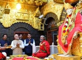 PM Narendra Modi in Shirdi