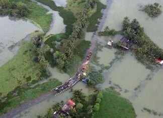 heavy to heavy rainfall in three districts of kerala