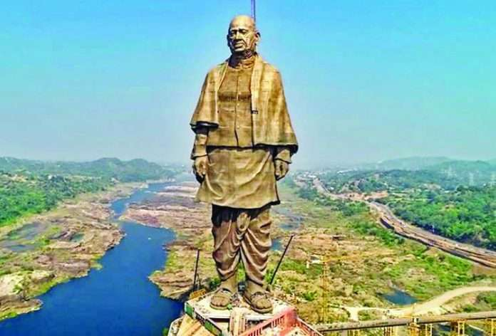 bihar Deputy Chief Minister stuck in statue of unity lift