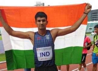 indian sprinter palendra chaudhary