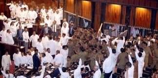 Srilanka Parliament MP fighting