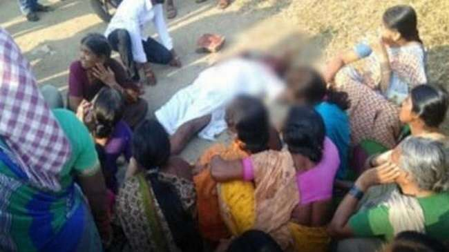TRS Leader Narayana Reddy murder case