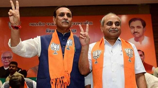 Gujarat Cm and Deputy Cm