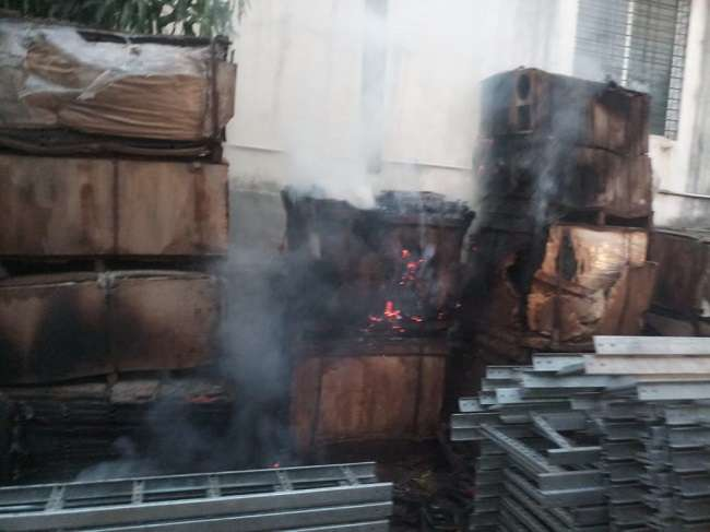 Fire at 16 locations in Pune