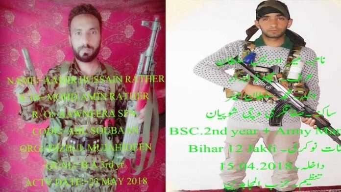 2 terrorists killed in Shopian