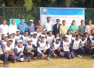 Maharashtra blind cricketers