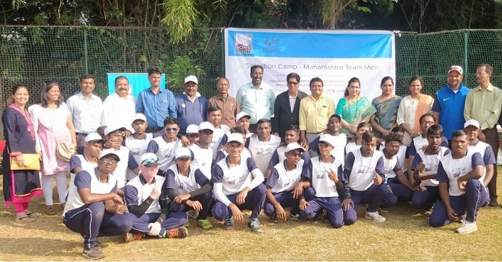 Maharashtra blind cricketers