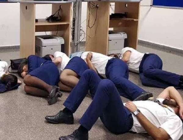 Ryanair employees