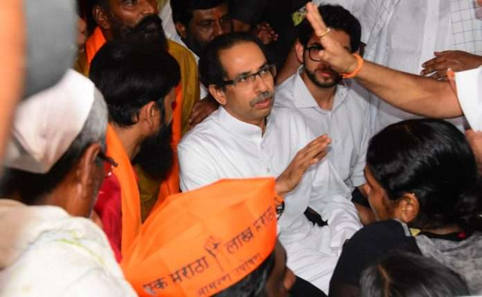 UDDHAV THACKERAY AT AZAD MAIDAN