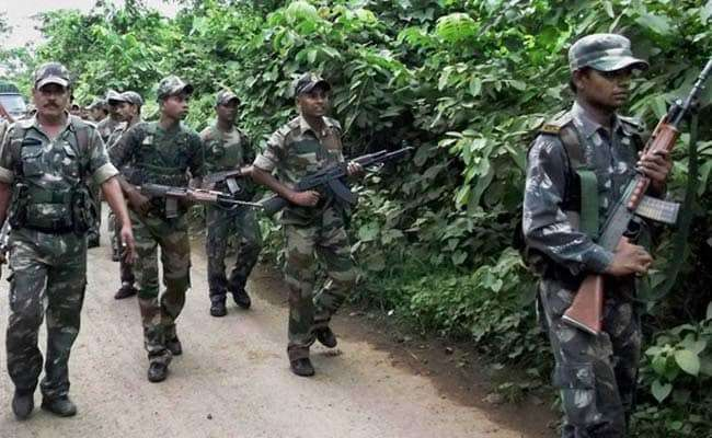 Odisha encounter between security forces and Naxals