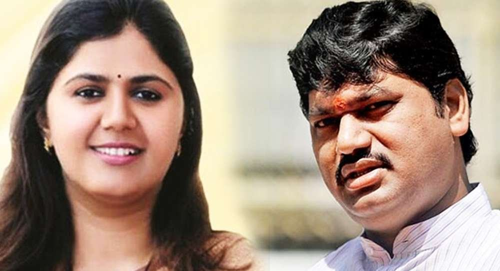 Pankaja Munde and Dhananjay Munde face-to-face