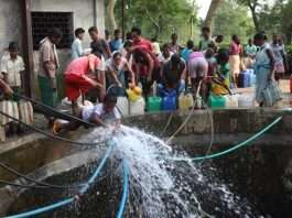 Water Resources Department started giving 1150 million liters of water per day to Pune