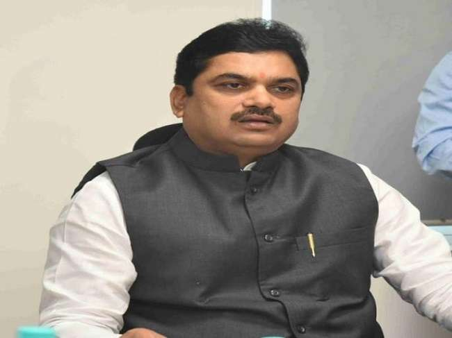 Water conservation minister Ram Shinde