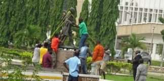 Mahatma Gandhi Statue (Courtesy-EMMANUEL DZIVENU/JOYNEWS)