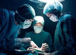 doctors doing surgery