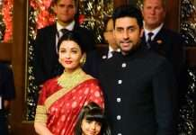 Aishwarya and Abhishek present in isha ambani marriage