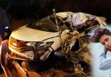 Danish Zehen death in car accident