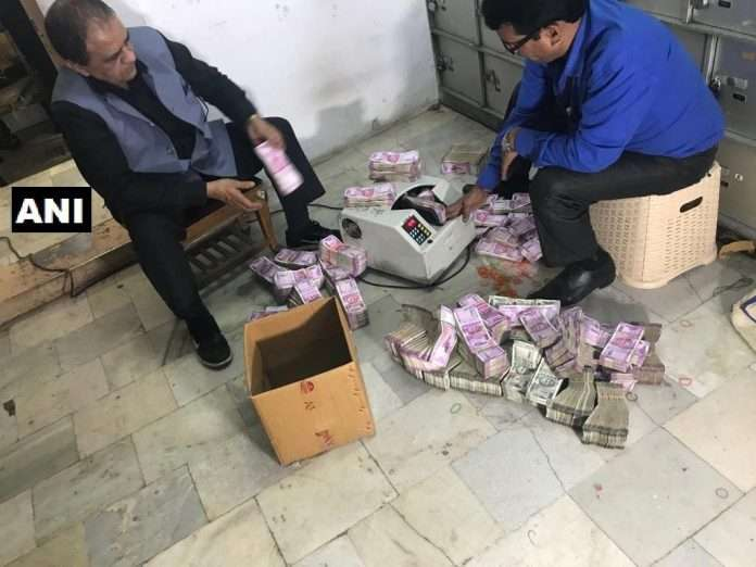30 crores found in closed lockers