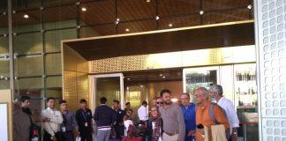 Hamid ansari return to mumbai