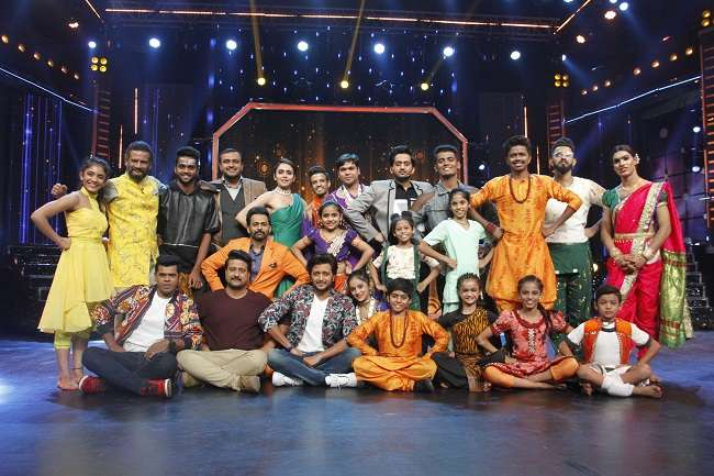 Mauli movie stars come in super dance program of Sony marathi