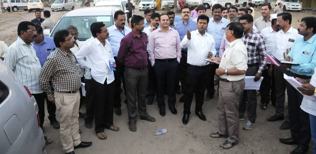 central squad survey drought conditions in pune district