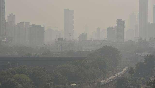 air pollution increase in Mumbai