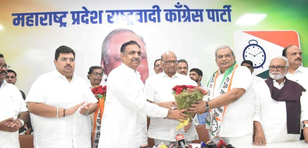Prashant Hire Joins NCP