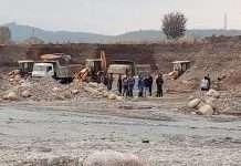 Silica excavation