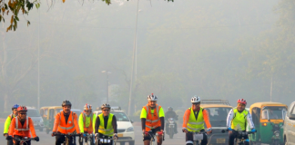 11 cycle riders completed 600 km cycle brevert