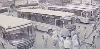 Major accident in navsari bus depot,3 dead