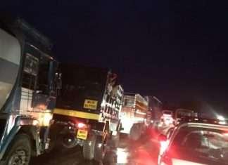nashik traffic jam