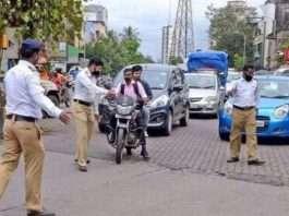 Breach of traffic rules