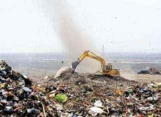 Dumping ground work of ambernath starts