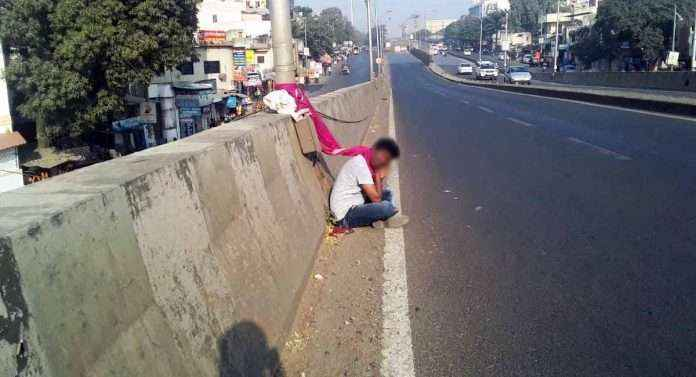 youngster tried to commit suicide at pune