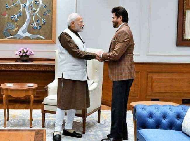 Anil Kapoor's reaction after meeting PM Modi