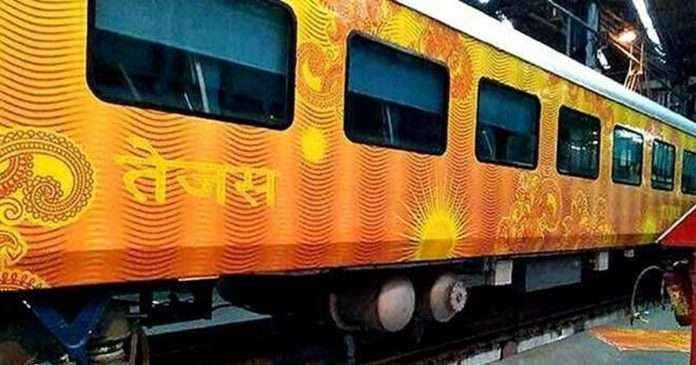 LCD screens will be removed from tejas express as thief stole