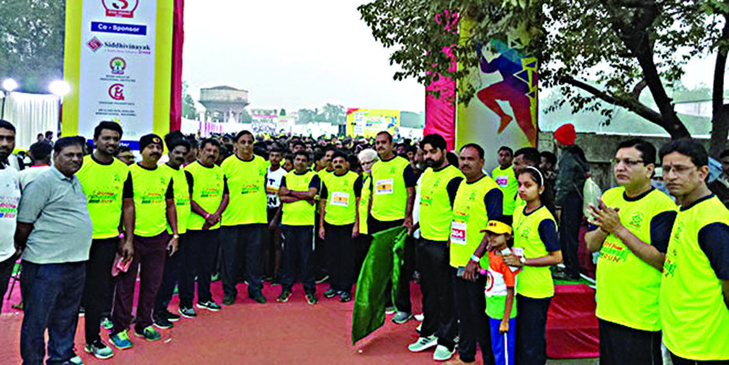 Bhusawal citizens run For better health