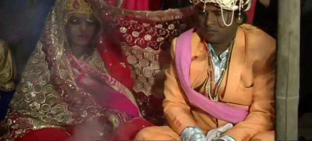 firing on bride,she returned for her marriage at delhi