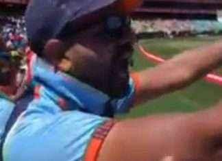 Indian Fans at Sydney Test Match