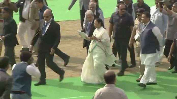 20 national leaders join maha rally with mamta banerjee in kolkata to fight against bjp