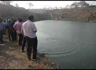 man drowned in moshi mining in pune