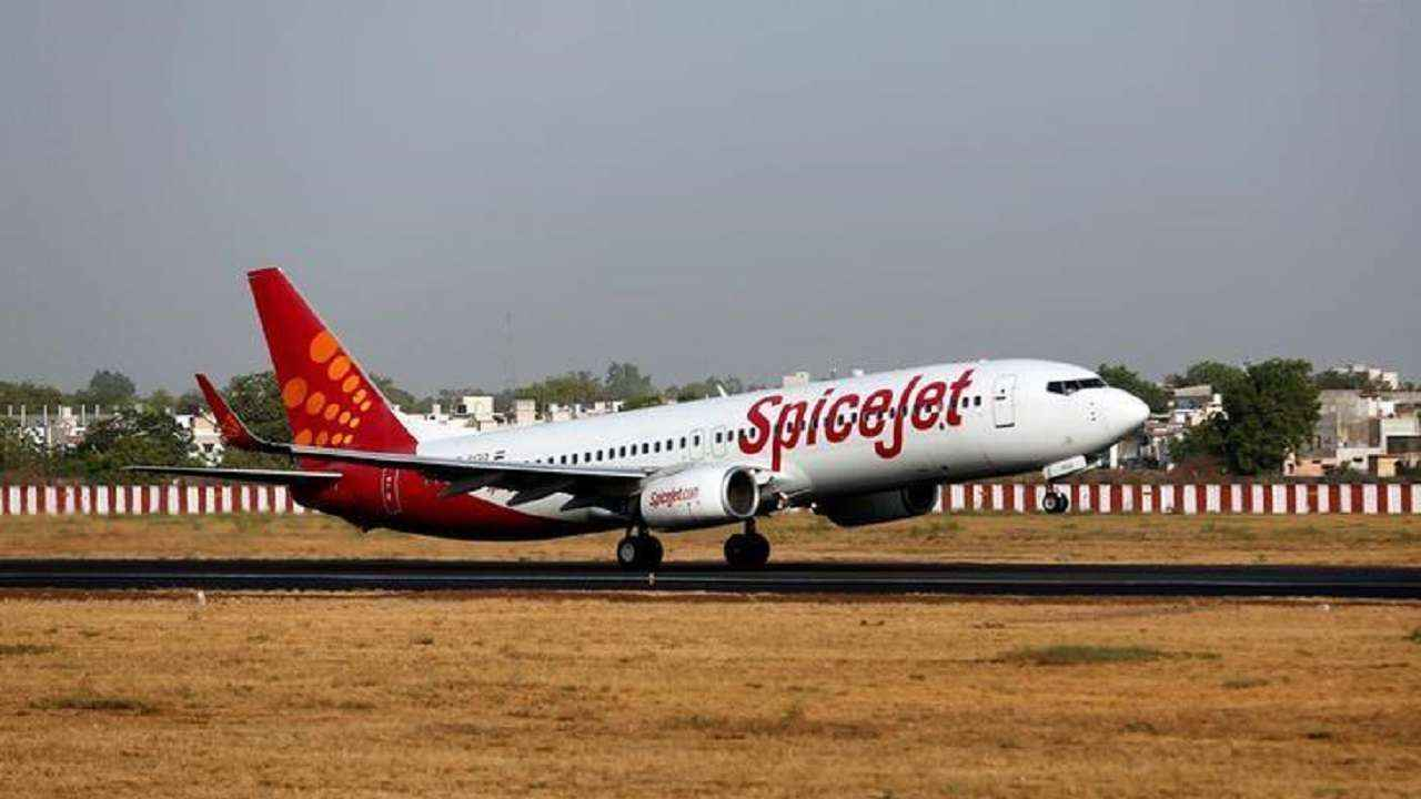 Spice Jet Flight