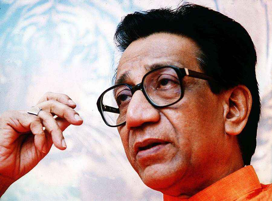 balasaheb thackeray on women entering temple