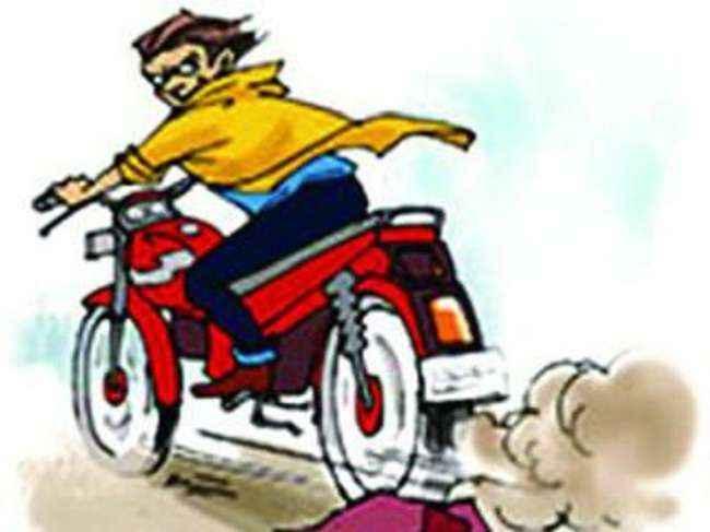Man stolen two wheeler