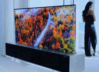CES 2019 : lG lcunched rollable tv