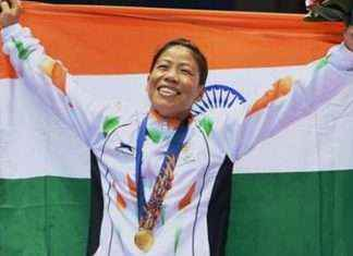 Gold medallist Mary Kom